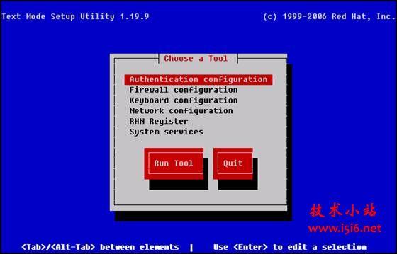 Red Hat 6 配置界面